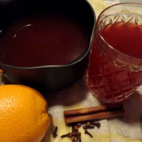 Christmas Spiced Fruit Punch (non-alcoholic)