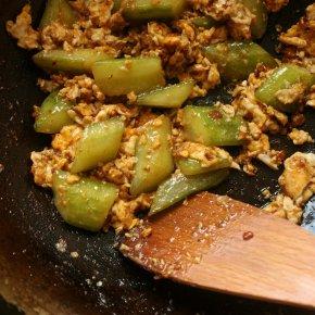 Cucumber and Egg Stir-Fry(แตงกวาผัดไข่)