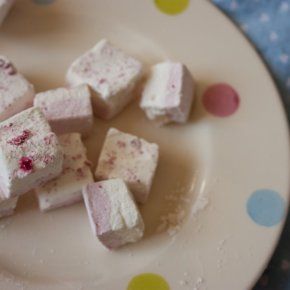 Rose, Raspberry, and Lychee Marshmallows & Long Way Home Short Story Contest