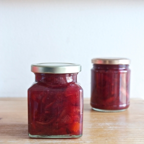 Medium-cut blood orange marmalade, June Taylor-inspired (plus a collection of Taylor's recipes)