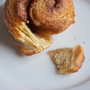 Seven Spoons' sugar buns: easy flaky danish pastry, spices, and brown butter