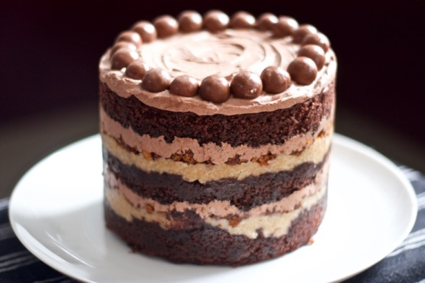 Milkbar German chocolate jimbo cake