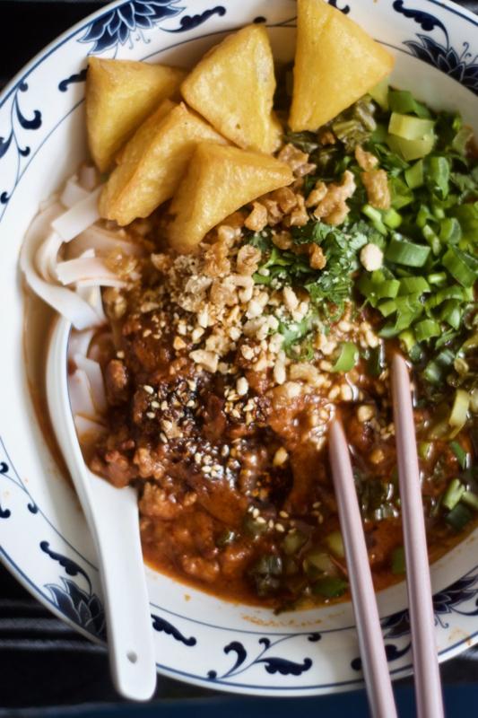 Shan Noodles from Mandalay by MiMi Aye